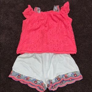 Self-esteem girl's outfit set